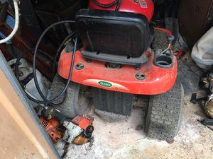 Husquvana, John Deer riding lawn mower 48 inch for Sale in Marietta, GA