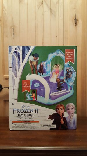Frozen II play center water pool for Sale in Snohomish, WA