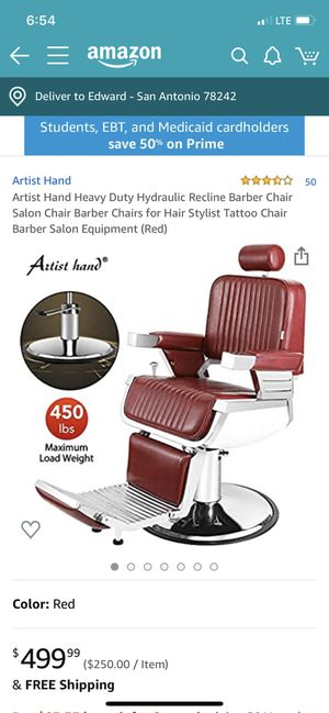 New Barber chair for Sale in San Antonio, TX