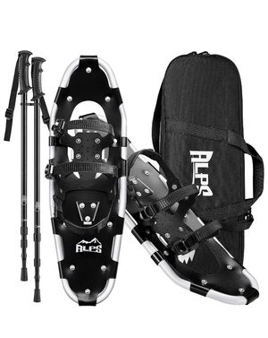 """ALPS Light Weight Kids Snowshoes, Boys & Girls +Trekking Poles,Carrying Tote Bag 14""""/17""""/19"""" for Sale in Jurupa Valley, CA"""