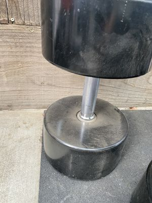 Pair of GP commercial 95lb Dumbbells for Sale in Fresno, CA