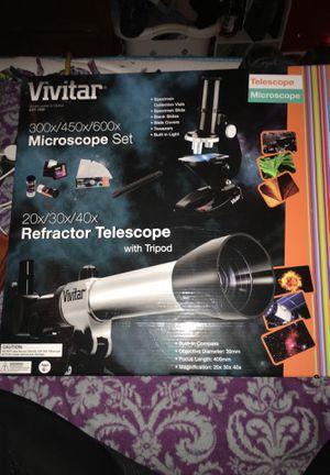 Vivipar microscope set for Sale in Saint Ansgar, IA
