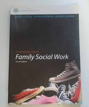 An Introduction to Family Social Work 4th ed for Sale in Denver, CO