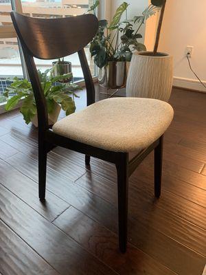 West Elm - Mid Century Modern Chair - Dark Mineral Brown for Sale in Austin, TX