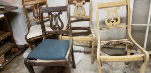 Antique solid wood chairs for Sale in Elmira, NY