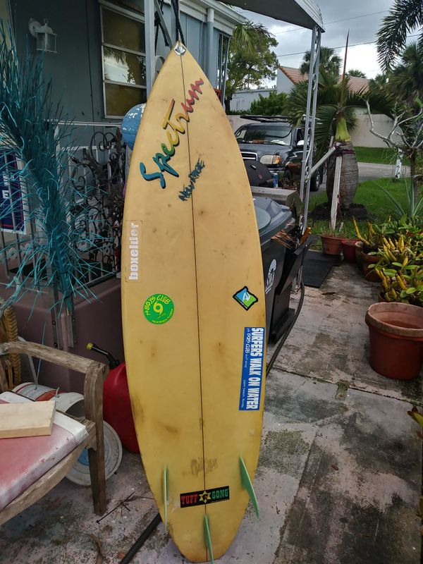 Spectrum Surfboard by Rick Bullock