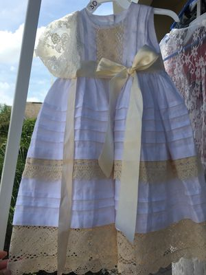 Baptism / Christening Dress with hat for Sale in Winter Garden, FL