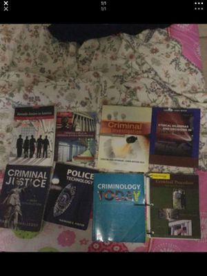 Criminal justice books for Sale in Tempe, AZ
