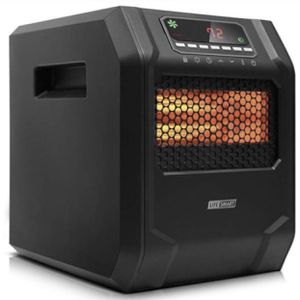 LIFE SMART 6 Quartz Elements Infrared Space Heater with LED Digital Display Screen, Fast Heating with Remote Control and Timer, Thermostat control sy for Sale in Ontario, CA