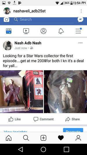 Action figures collectible Star Wars first episode for Sale in Philadelphia, PA