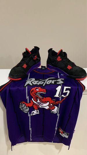 "Jordan 4 ""Raptor"" & Raptors Jersey for Sale in Canton, MI"