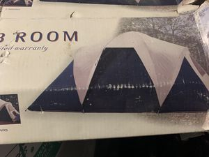 Insta-Set 3 Room 7-person dome tent for Sale in Fontana, CA
