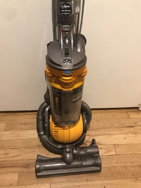 Dyson Ball Dc25 Yellow Vacuum Cleaner REFURBISHED
