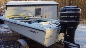 Star craft boat 40 hp motor for Sale in Philippi, WV