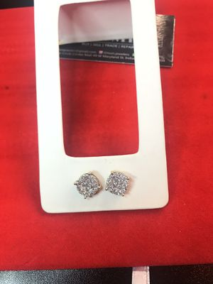 10 Kt Gold diamond ear rings on sale for Sale in Indianapolis, IN