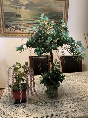 Two Artificial Plants for Sale in El Cajon, CA