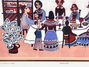 """""""SABBATH"""" by AMOS AMIT ~ Vintage Limited Edition Signed & Numbered Lithograph for Sale in West Palm Beach, FL"""
