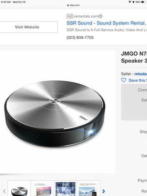 Jmgo movie projector for Sale in Fontana, CA