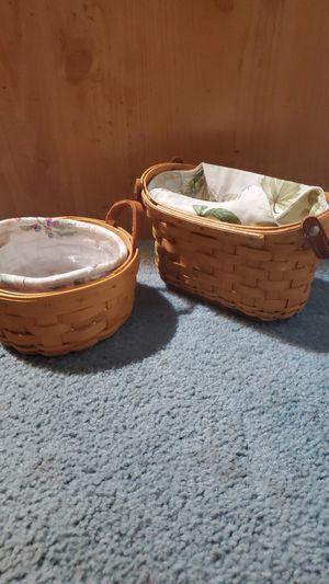 Longaberger baskets for Sale in Sumner, WA
