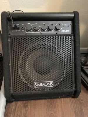 Simmons 50 watt keyboard/ electric drum set amp for Sale in San Diego, CA