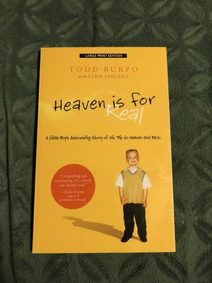 Heaven is for Real book for Sale in West Chazy, NY