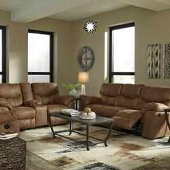 🎵Boxberg Bark Reclining Living Room Set🎵⏰39 DOWN⏰ for Sale in Houston,  TX