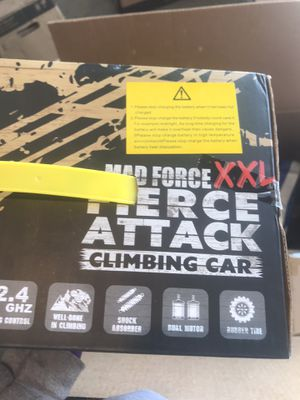 Mad force xxl fierce attack climbing car for Sale in Smyrna, TN