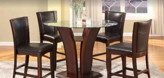 🥗CAMELIA COUNTER HEIG🥣 GLASS DINING🍲 TABLE $749🥧 for Sale in Houston,  TX