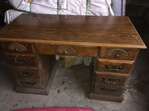 Solid Desk (7 drawers) for Sale in Egg Harbor City, NJ