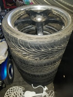 Tires with rims for Sale in Woodburn, OR