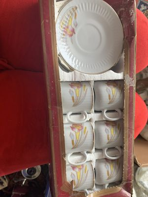 Turkish coffee cups set for Sale in Fairfax, VA