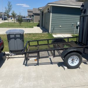 5x8 Trailer With Ramp for Sale in Dallas, TX