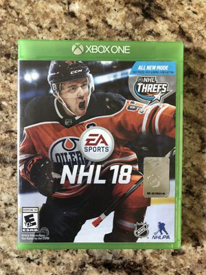 Xbox one NHL 18 for Sale in Apex, NC