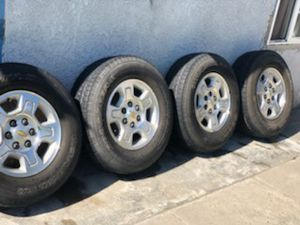 2009 chevy silverado rims for Sale in Long Beach, CA