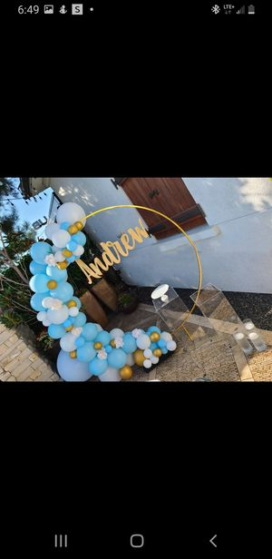 Party setup and decorations for Sale in La Verne, CA