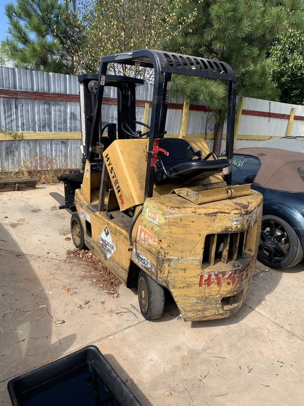 Hyster 50 3stage mass whit side shift
