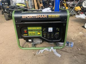Sportsman duel fuel 4000 generator for Sale in Fresno, CA