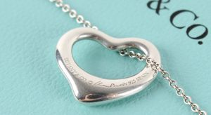 Like New Tiffany and Co. Open Heart Pendant by Elsa Paretti for Sale in Chicago, IL