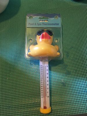 Pool and spa thermometer new in package for Sale in San Diego, CA