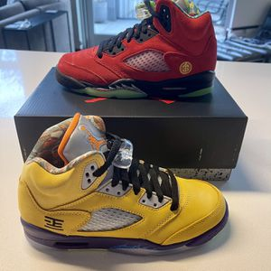 """Air Jordan Retro 5 """"What The"""" Size 4y DS for Sale in Portland, OR"""