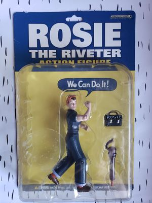 Rosie the Riveter Action Figure, new in box. for Sale in Goodyear, AZ