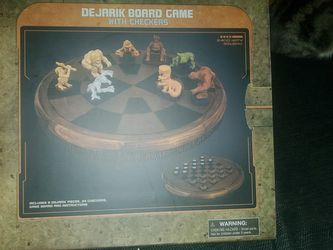 Dijarik Board Game With Checkers for Sale in Reading,  PA