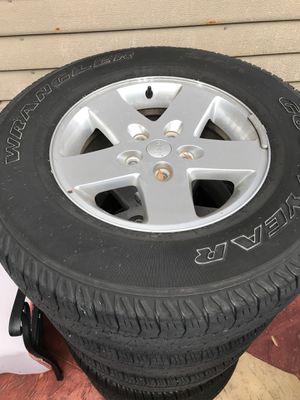 2013 Jeep Wrangler OEM Wheels for Sale in Miami, FL