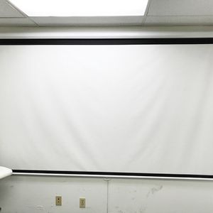 """(NEW) $75 Manual Pull Down 120"""" Projector Screen 16:9 Ratio Projection Home Theater Movie for Sale in South El Monte, CA"""
