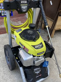 Ryobi/Honda Pressure Washer 3000 Psi Bring $250 And Take It for Sale in Los Angeles,  CA