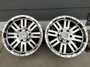 Two rims 17 inch Toyota or Nissan for Sale in Marysville, WA