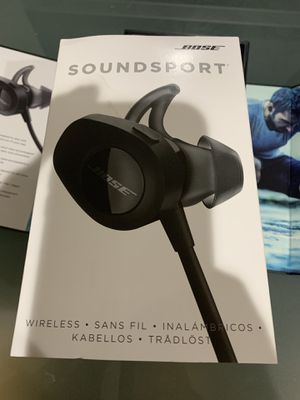 Bose soundsport wireless earbuds ( never used) for Sale in Clifton, VA