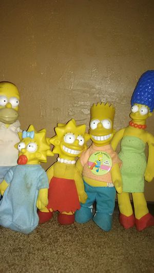 The Simpsons family dolls for Sale in Selma, CA