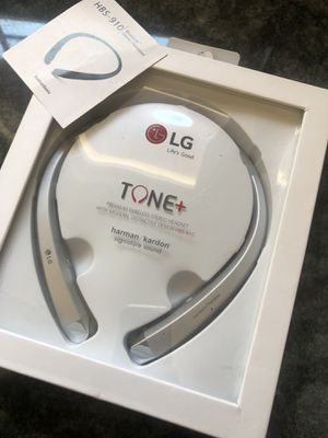 LG HBS-910 Bluetooth Headsets & Headphones brand new for Sale in Peoria, AZ