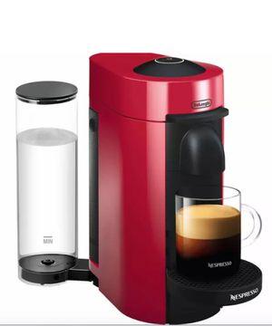 Nespresso Vertuoplus Coffee and Espresso Machine by Delonghi, Red ENV150R for Sale in Los Angeles, CA